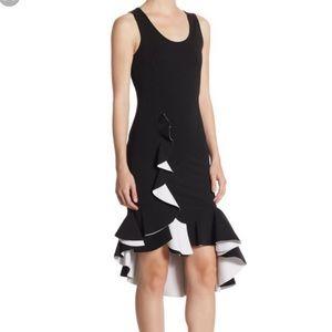 Givenchy stretch ruffle dress